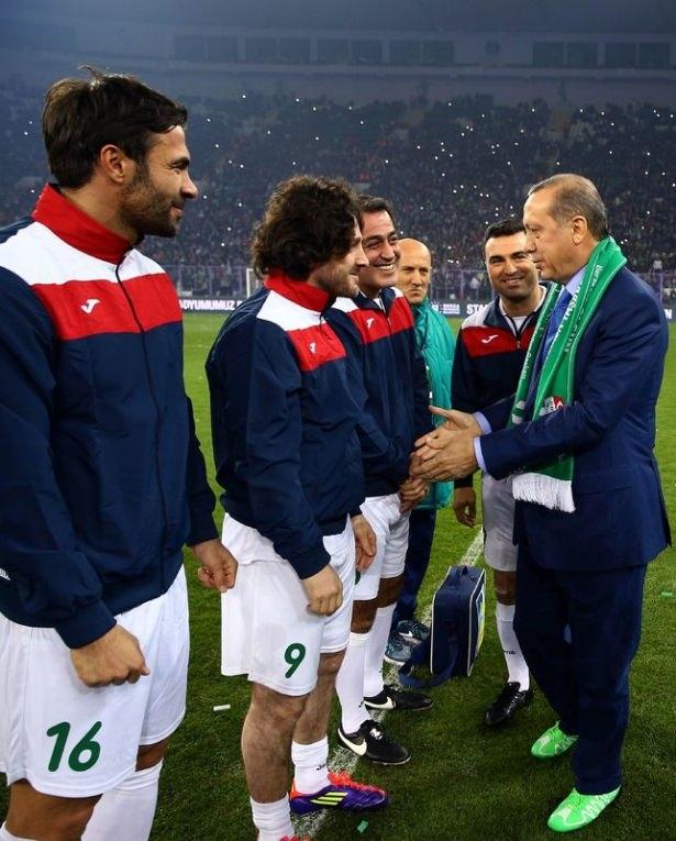 Santrayı Erdoğan yaptı, ilk golü o attı 19