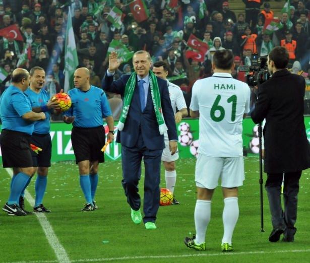 Santrayı Erdoğan yaptı, ilk golü o attı 26