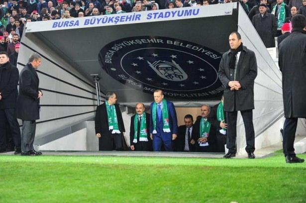Santrayı Erdoğan yaptı, ilk golü o attı 32