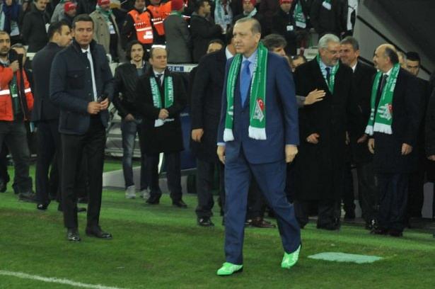 Santrayı Erdoğan yaptı, ilk golü o attı 34