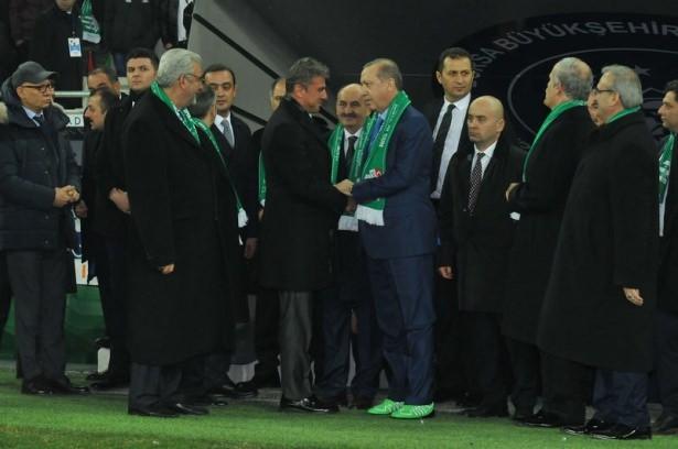 Santrayı Erdoğan yaptı, ilk golü o attı 41