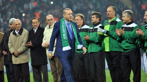 Santrayı Erdoğan yaptı, ilk golü o attı 8