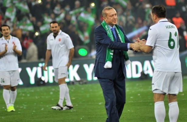 Santrayı Erdoğan yaptı, ilk golü o attı 9