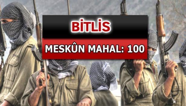 İşte PKK'lı hainlerin il il dağılımı 18