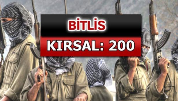 İşte PKK'lı hainlerin il il dağılımı 19