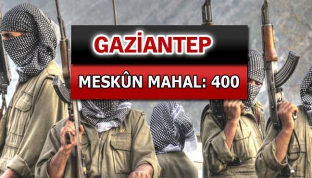 İşte PKK'lı hainlerin il il dağılımı 33
