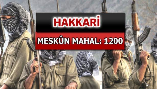 İşte PKK'lı hainlerin il il dağılımı 36