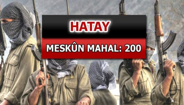 İşte PKK'lı hainlerin il il dağılımı 39