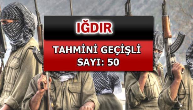 İşte PKK'lı hainlerin il il dağılımı 44