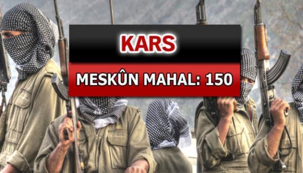 İşte PKK'lı hainlerin il il dağılımı 45