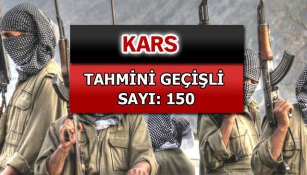İşte PKK'lı hainlerin il il dağılımı 47