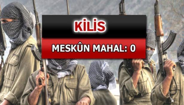 İşte PKK'lı hainlerin il il dağılımı 48