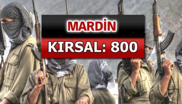 İşte PKK'lı hainlerin il il dağılımı 52