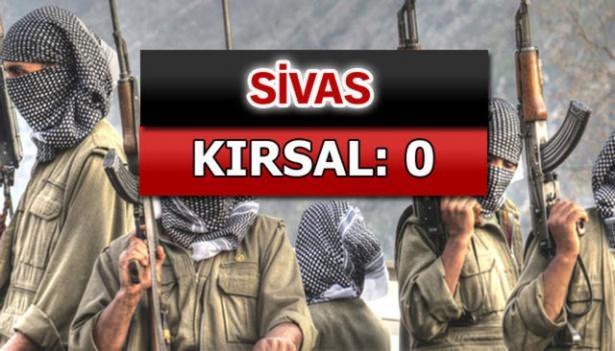 İşte PKK'lı hainlerin il il dağılımı 61