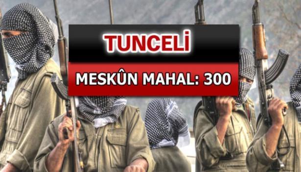 İşte PKK'lı hainlerin il il dağılımı 66