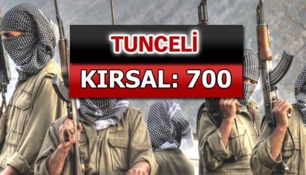 İşte PKK'lı hainlerin il il dağılımı 67