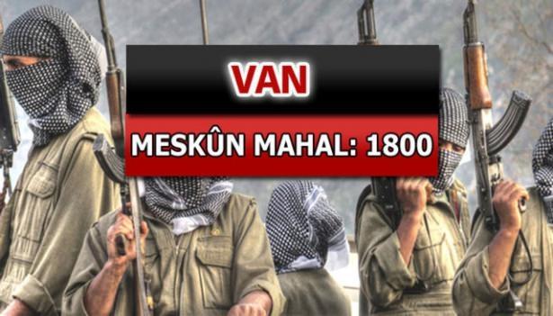İşte PKK'lı hainlerin il il dağılımı 69