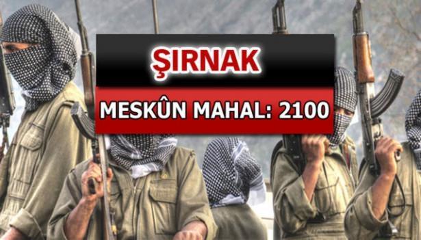 İşte PKK'lı hainlerin il il dağılımı 75