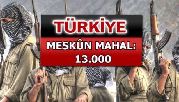 İşte PKK'lı hainlerin il il dağılımı 79