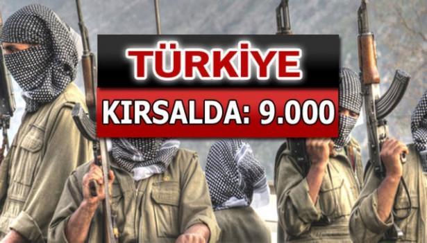 İşte PKK'lı hainlerin il il dağılımı 80