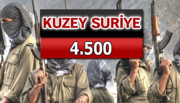 İşte PKK'lı hainlerin il il dağılımı 82