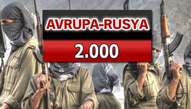 İşte PKK'lı hainlerin il il dağılımı 84