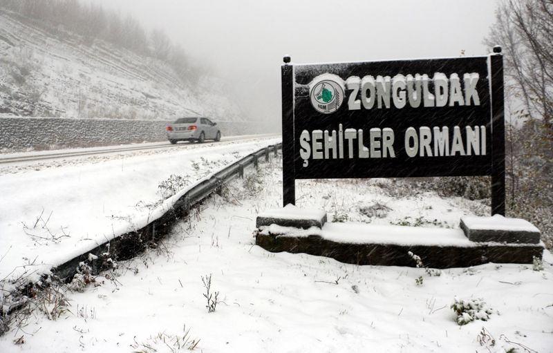 İşte yurttan kar manzaraları... 131