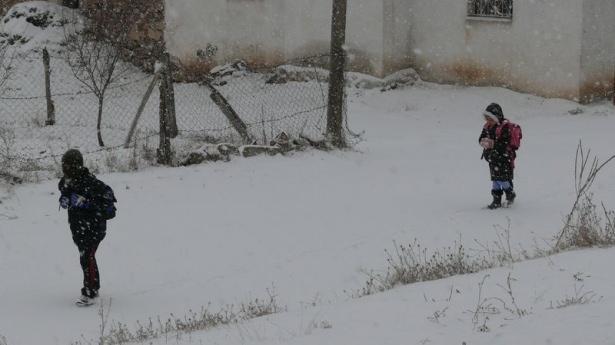 İşte yurttan kar manzaraları... 146