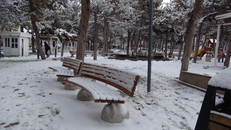 İşte yurttan kar manzaraları... 16