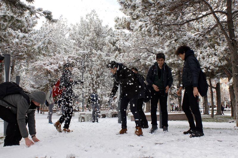İşte yurttan kar manzaraları... 21