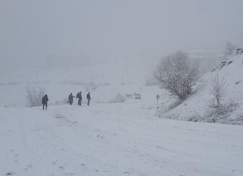 İşte yurttan kar manzaraları... 23