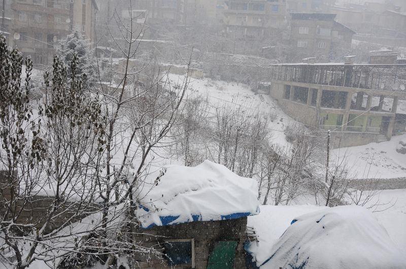 İşte yurttan kar manzaraları... 24