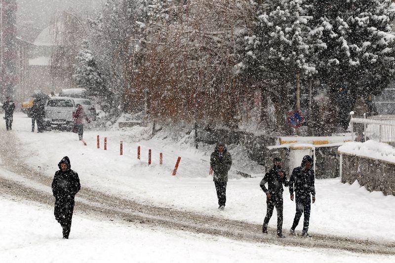 İşte yurttan kar manzaraları... 27