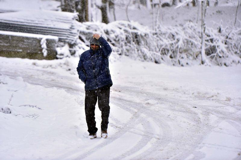 İşte yurttan kar manzaraları... 4