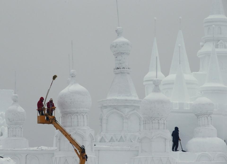 Çin'de Buz ve Kar Festivali 1