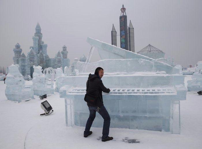 Çin'de Buz ve Kar Festivali 10