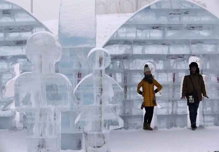 Çin'de Buz ve Kar Festivali 11