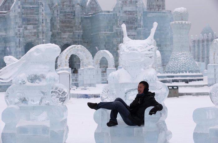 Çin'de Buz ve Kar Festivali 12
