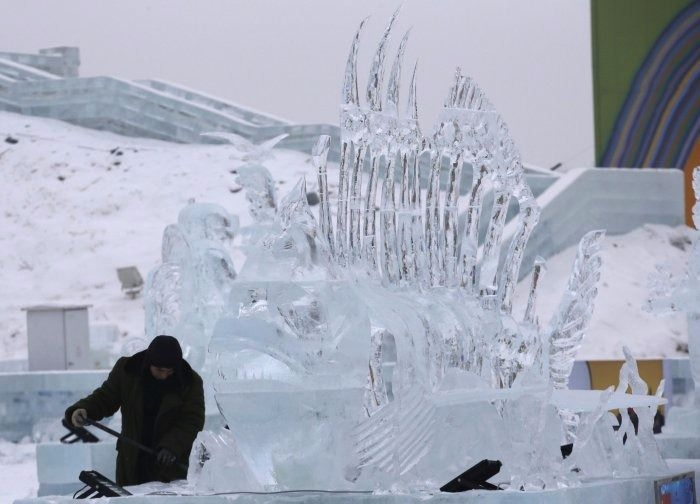 Çin'de Buz ve Kar Festivali 13