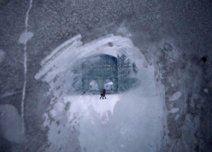 Çin'de Buz ve Kar Festivali 14