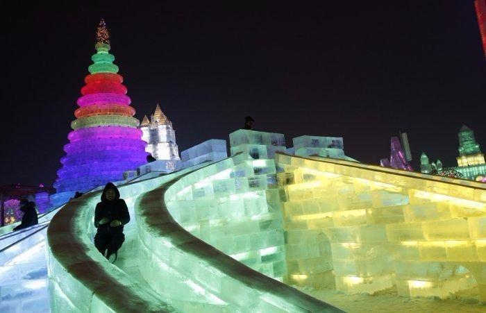 Çin'de Buz ve Kar Festivali 16