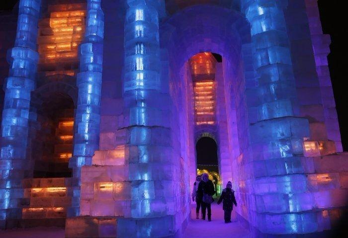 Çin'de Buz ve Kar Festivali 17