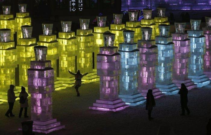 Çin'de Buz ve Kar Festivali 19