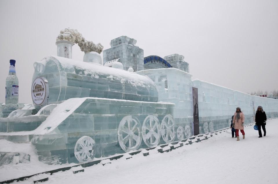 Çin'de Buz ve Kar Festivali 2