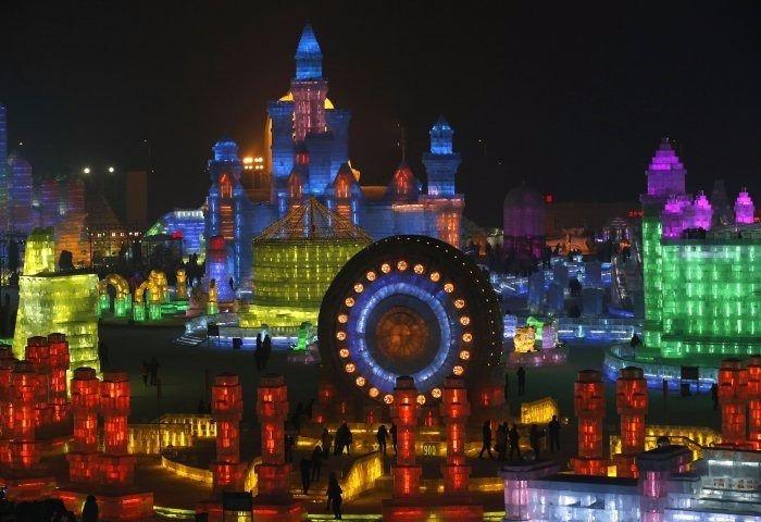 Çin'de Buz ve Kar Festivali 20