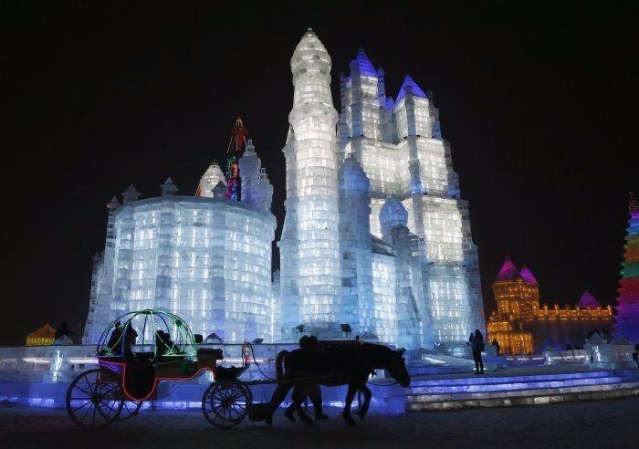 Çin'de Buz ve Kar Festivali 21