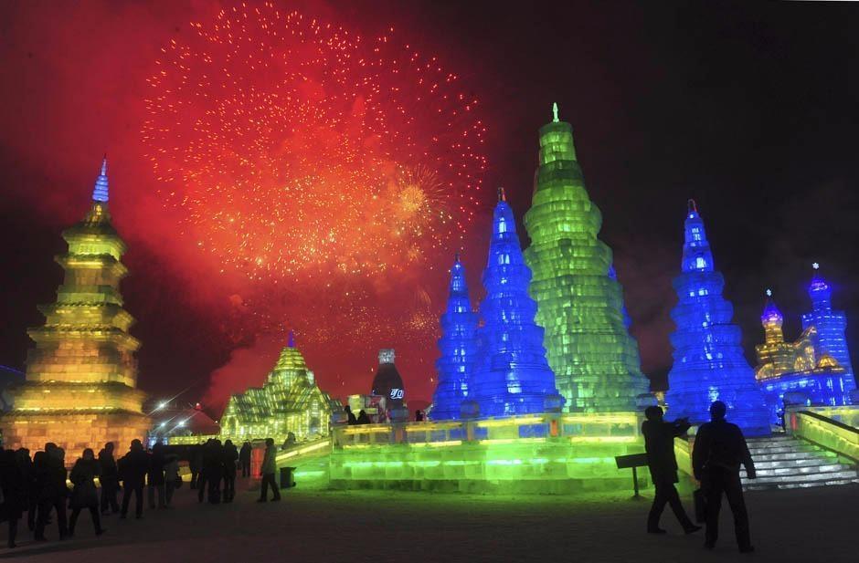 Çin'de Buz ve Kar Festivali 22
