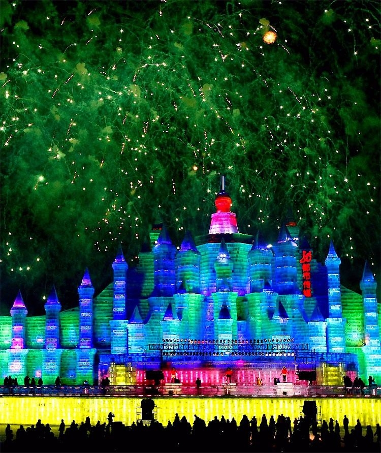 Çin'de Buz ve Kar Festivali 23