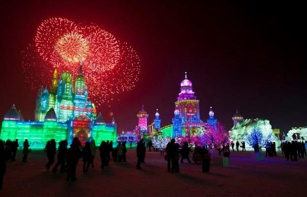 Çin'de Buz ve Kar Festivali 25
