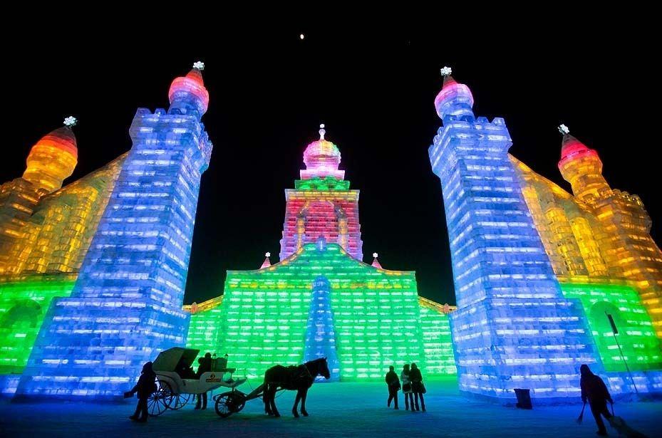 Çin'de Buz ve Kar Festivali 26